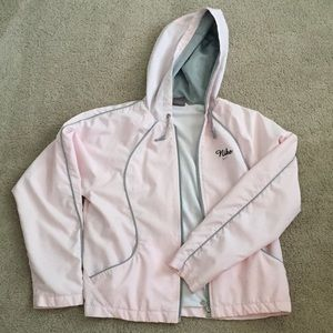 Pink Nike Jacket.